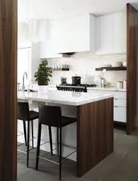 Kitchen Modern Design by White Kitchen Cabinets On Top And Wood On Bottom U003d Another Option