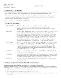 resume format word document resume in ms word format doc