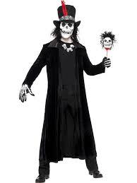 voodoo man skeletons bones day of the dead halloween fancy dress