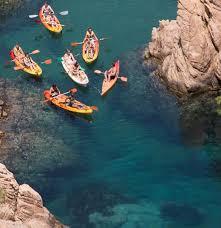 kayaking and snorkeling tour barcelona