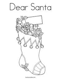 25 cp xmas stockings images coloring sheets