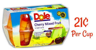 dole fruit bowls dole coupon 21 fruit cups southern savers