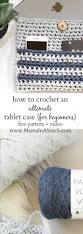 Free Crochet Patterns For Home Decor Best 25 Crochet Tablet Cover Ideas On Pinterest Crochet Ipad