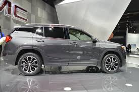 gmc terrain 2018 black gmc step up their game with all new 2018 terrain crossover