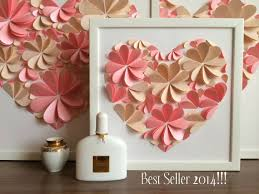 modern wedding guest book wedding gifts modern 3d heart guest book 2256934 weddbook