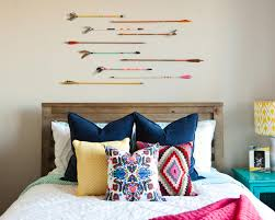 Teenage Girls Bedroom Ideas Colorful Tribal Eclectic Teen Bedroom With Arrows And Navy