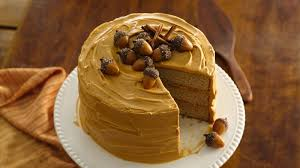 Spice Cake With Dulce De Leche Frosting Recipe Bettycrocker Com