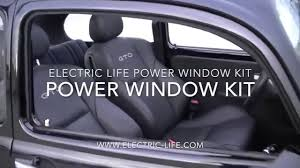 power window switch kit 1974 vw beetle power windows youtube