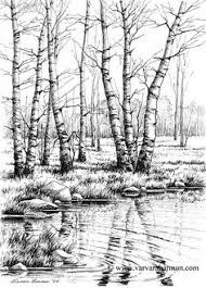 gallery a beautiful sketch of nature drawing art gallery