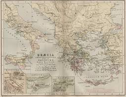Map Of Ancient Greece by Ancient Greece