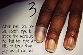 classy nails the easy french manicure tutorial
