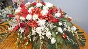 how to make a casket spray floral casket spray arrangement diy