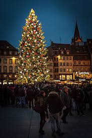 market commons tree lighting ceremony strasbourg s christmas market wikitravel
