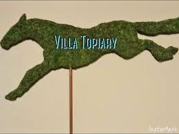 Horse Topiary Steeplechase Horse Topiary Silhouette Made Exclusively By Villa