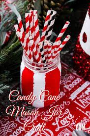 christmas craft diy candy cane mason jar it u0027s a mother thing