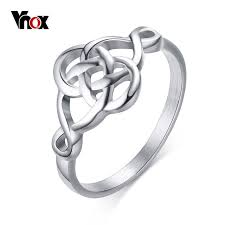 aliexpress buy vnox 2016 new wedding rings for women vnox ouroboros rings for women vintage hollow stainless steel self