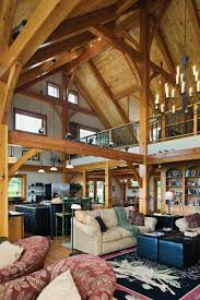 timber frame great rooms photo gallery