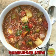 slow cooker hamburger stew fit slowcooker queen