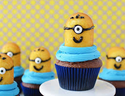 minion cupcakes despicable me minion cupcakes easy for a party thrifty nw