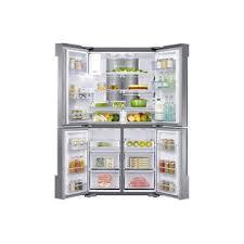Samsung Cabinet Depth Refrigerator Samsung Rf22k9581sr Aa 22 Cu Ft Capacity Counter Depth 4 Door