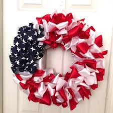 ribbon wreaths diy patriotic ribbon wreath regal ribbons