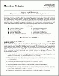 Product Marketing Manager Resume Example marketing resume example stunning marketing resumes samples with