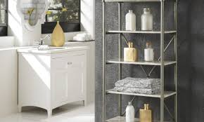 5 great ideas for bathroom shelves overstock com