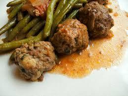 cuisiner des haricots verts frais haricots verts et boulettes de boeuf cuisine avec du
