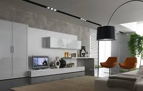 living room awesome modern minimalist tv freestanding for trendy