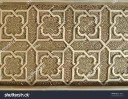 Moroccan Pattern Art Moroccan Wall by Islamic Art Pattern On Wall Hassan Stock Photo 88718827 Shutterstock