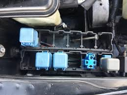 radiator cooling fans power motor or relay issue nissan forum
