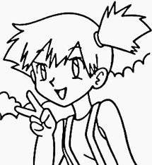 pokemon coloring pages misty e 79 pokemon coloring pages coloring book