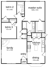 floor plans 3 bedroom ranch fine bedroom house plans with open floor on inspirational ideas 8