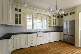 pale yellow kitchen cabinets