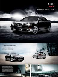 2008 audi a6 brochure headlamp motor vehicle