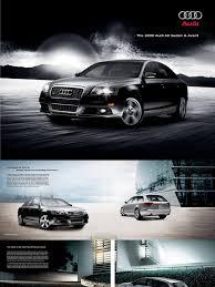 2008 audi a6 brochure headlamp motor vehicle