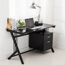 walker edison urban blend computer desk 48 inch desk attractive corner for bedroom computer ikea in