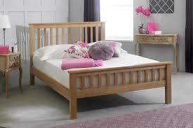 King Size Oak Bed Frame by Cavendish Solid Oak Bed Frame 5ft King Size The Oak Bed Store