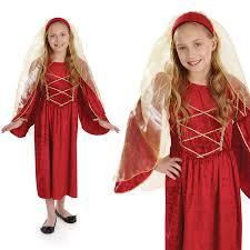 Tudor Halloween Costumes Childrens Tudor Fancy Dress Costumes Book Week Kids