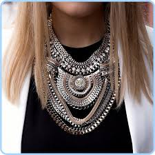 big chain necklace fashion images Big fashion exaggerated brand style multi ethnic women 39 s white k jpg