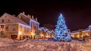 wallpapers city of zagreb croatia new year samobor winter christmas