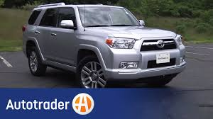 toyota suv cars 2012 toyota 4runner suv new car review autotrader youtube