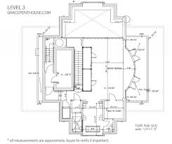 Luxury Penthouse Floor Plan by The Luxury Penthouse Elysium In Grace Tower Vancouver Canada