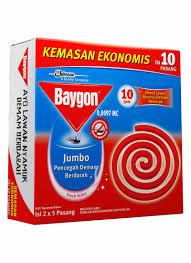 Obat Nyamuk Vape baygon obat nyamuk bakar 10 s jumbo box klikindomaret