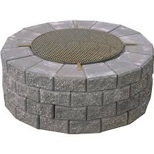 Fire Pit Price - shop expocrete fire pit with cooking grate at lowe u0027s canada find