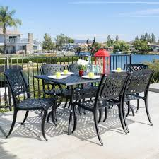 Beachmont Outdoor Patio Furniture Cast Aluminum Dining Set Outdoor Table Patio Sets On Sale Cbm