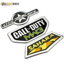jeep wrangler sahara logo car stickers for jeep wrangler sahara car emblems metal logo call of