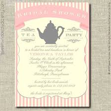 bridal shower tea party invitations tea party invitations for bridal shower wedding invitation sle