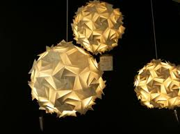 Origami Light Fixture 110 Best Origami Lamp Images On Pinterest Origami Paper Diy