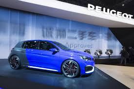 auto peugeot peugeot 308 r hybrid at 2015 auto shanghai photos u0026 videos